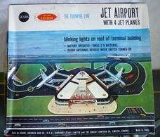 Sears Jet Airport Playset | Tinplate & Pressed Steel Toys