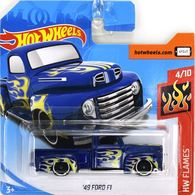 '49 Ford F1 | Model Trucks | Hot Wheels HW Flames 40 Ford F1