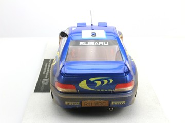 Subaru Impreza S4 WRC Tour de Corse 1998 - Dirty Version | Model Racing Cars