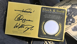 Black & Gold: The Story Of The John Player Specials  - Mario Andretti Edition | Books | Signed by Mario Andretti