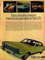 Êstes Carros Têm A Mesma Transmissão Automática Do Ford LTD | Print Ads