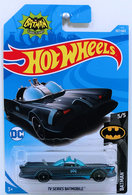 TV Series Batmobile | Model Cars | HW 2018 - Collector # 307/365 - Batman 5/5 - TV Series Batmobile - Midnight Blue - International Long Card