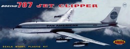 Aurora pan am boeing 707 jet clipper model aircraft kits c693456c 0045 4bde 81e9 d7ba069fa430 medium