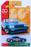 Buick Grand National | Model Cars | HW 2018 - 50th Anniversary / Throwback Collection 5/10 - Buick Grand National - Blue