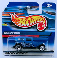 '32 Ford Delivery | Model Trucks | HW 1999 - Toy # 23806 - '32 Ford Delivery - Blue - Lace Wheels - International Short Card
