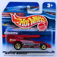Firebird (Funny Car 1997) | Model Cars | HW 1999 - Toy # 23808 - Firebird Funny Car (1997) - Dark Red - International Short Card