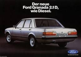 Der Neue Ford Granada 2.1D, Wie Diesel. | Print Ads