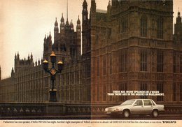There Are More Speakers In A Volvo Than There Are In The Houses Of Parliament. | Print Ads
