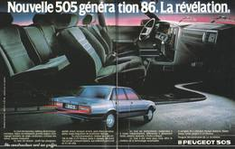 Nouvelle 505 Génération 86. La Révélation. | Print Ads
