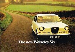 The New Wolseley Six. | Print Ads