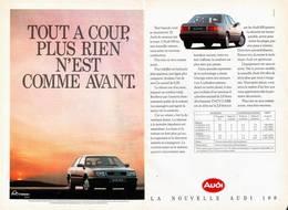 Tout A Coup, Plus Rien N'Est Comme Avant. | Print Ads