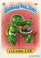 Lizard Liz | Trading Cards (Individual)