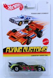 Corvette Funny Car | Model Cars | HW 2013 - Flying Customs X8213 - Corvette Funny Car - Black - Tough and Sturdy
