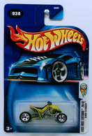 Sand Stinger | Model Motorcycles | HW 2003 - Collector # 038/220 - First Editions 26/42 - Sand Stinger - Metallic Anti-Freeze - USA '04 Card