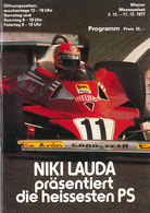 Niki Lauda Show 1977   Event Programs