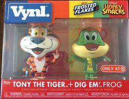 Tony The Tiger + Dig Em' Frog | Vinyl Art Toys