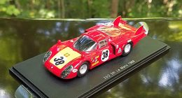 1968 Alfa Romeo T33/2, 5th Place, Le Mans | Model Racing Cars