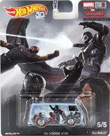 '66 Dodge A100 | Model Trucks | Hot Wheels Marvel Comics '66 Dodge A100