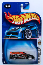 Audacious | Model Cars | HW 2003 - Collector # 044/220 - First Editions 32/42 - Audacious - Black - USA '04 Card