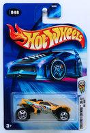 Da'Kar | Model Racing Cars | HW 2003 - Collector # 048/220 - First Editions 36/42 - Da'Kar - Pearl Light Orange - USA '04 Card