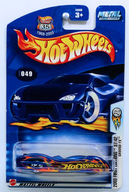 Ground FX | Model Cars | HW 2003 - Collector # 049/220 - First Editions 37/42 - Ground FX - Metallic Blue - USA '1968-2003 Anniversary' Card