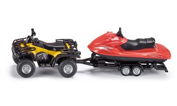 Massey Ferguson Quad with Jet-Ski | Model Vehicle Sets