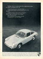 Perhaps Once In A Generation The Opportunity Arises To Create An Entirely New Car. | Print Ads