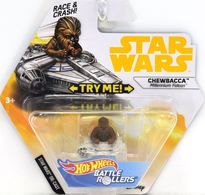 Chewbacca (Millenium Falcon) | Model Spacecraft | Hot Wheels Battle Rollers Chewbacca