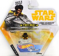 Lando Calrissian (Millenium Falcon) | Model Spacecraft | Hot WHeels Battle Rollers Lando Calrissian