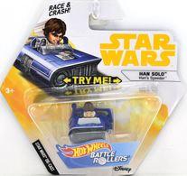 Han Solo (Hans Speeder) | Model Spacecraft | Hot Wheels Battle Roller Han Solo Hans Speeder