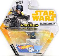 Imperial Officer (Imperial Arrestor Cruiser) | Model Spacecraft | Hot Wheels Star Wars Battle Rollers Imperial Officer