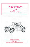 Matchbox USA Magazine August 2018 | Magazines & Periodicals