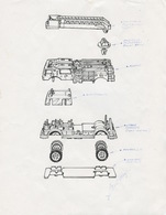 Matchbox Fire Truck Concept Sketch | Drawings & Paintings