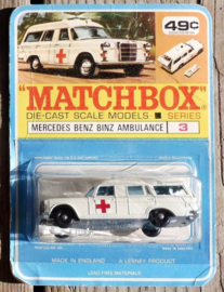 "Mercedes Benz ""Binz"" Ambulance 