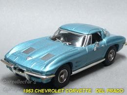 Chevrolet 1963 Chevrolet Corvette C2 Stingray Coupe | Model Cars