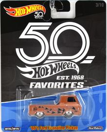 '60s Ford Econoline Pickup | Model Trucks | Hot Wheels 50th Favorites 60's Ford Econiline Pickup