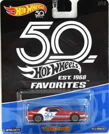 '71 AMC Javelin | Model Cars | Hot Wheels 50th Favorites 71 AMC Javelin
