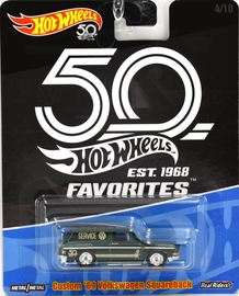 Custom '69 Volkswagen Squareback   Model Cars   Hot Wheels 50th Favorites Custom 69 Volkswagen Squareback