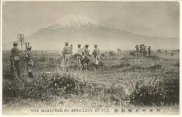 The maneuver fo artillery at fuji postcards 49ad37f1 ce28 4ba4 abbc bfe244c77402 medium