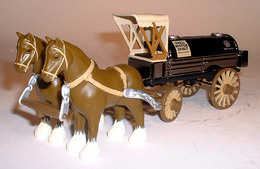 Shell #1 (2003) - Horses And Tanker Wagon (Bank) | Coin Banks