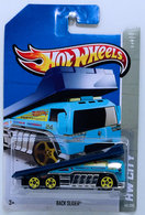 Back Slider | Model Trucks | HW 2013 - HW City / HW City Works - Back Slider - Sky Blue - International Long Card