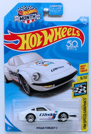 Nissan Fairlady Z | Model Cars | HW 2018 - Collector # 154/365 - HW Speed Graphics 9/10 - Nissan Fairlady Z - White / GReddy - USA 50th & MONTH Card
