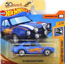 '70 Ford Escort RS1600 | Model Cars | Hot Wheels 50th Anniversary HW 50th Race Team '70 Ford Escort RS1600