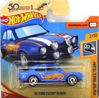 '70 Ford Escort RS1600 | Model Cars | Hot Wheels 50th Anniversary HW 50th Race Team '70 Ford Escort RS1600