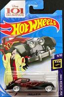 Cruella De Vil   Model Cars   Hot Wheels HW Screen Time Disney 101 Dalmations Cruella De Vil