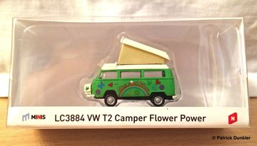 "VW T2 Camper ""Flower Power"" 