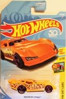 Maximum Leeway | Model Racing Cars | 2018 Hot Wheels Maximum Leeway (Art Cars) 50th Anniversary USA Blister Card