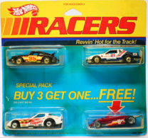 Racers 4-Pack | Model Vehicle Sets