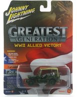 Johnny Lightning WWII Willys MB Jeep | Model Cars