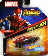 Iron Spider | Model Cars | Hot Wheels Marvel Comics Iron Spider